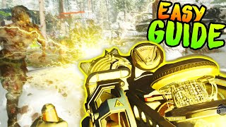 COLD WAR ZOMBIES WONDER WEAPON UPGRADE GUIDE (ALL 4 ELEMENTS DIE MASCHINE EASTER EGG)