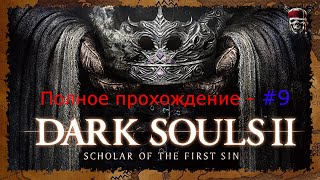 Dark Souls 2: Scholar of the First Sin - От и до #9[Долина Жатвы]