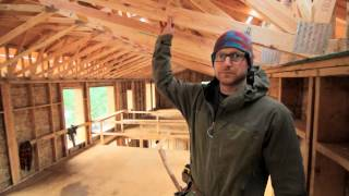 Pumpkin Ridge Passive House Video #010: Attic Truss Details