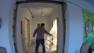 Частный дом - ремонт день #66 Плитка в кухне и шкурим коридор(, 2016-09-23T19:11:16.000Z)
