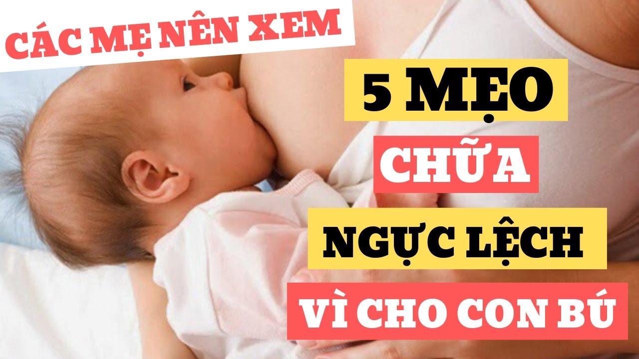 5 MẸO giúp mẹ khắc phục ngực lệch, Kinh Nghiệm Tăng Nhiều Sữa Mẹ Bên Ngực Ít ✅ Nguyên Hồng Vlog 2