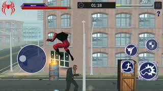 AMAZING SUPER HERO: SUPER STRANGE SPIDER ROPE HERO Android Gameplay