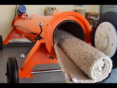 Tutorial (Part-1) Cuci Karpet Express Dengan Jetspin Carpet Spinner 5,5 Hp