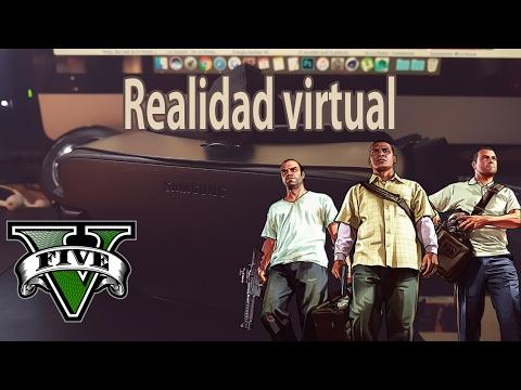 GTA V | Realidad virtual con Galaxy s7 edge y Gear VR 3 | Oculus