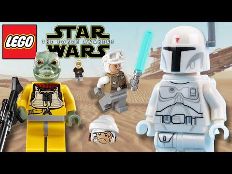 Lego Star Wars The Force Awakens Prototype Boba Fett Bossk