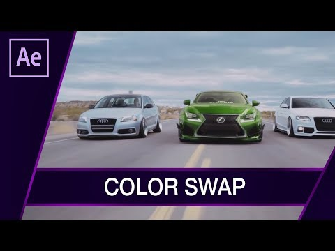 Color Swap ▪ Tutorial  ▪ #36 AE After Effects