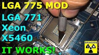 lga 771 to 775 mod xeon x5460 and abit ip 35 working
