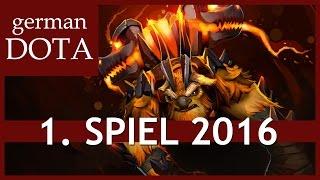 Dota 2 EARTHSHAKER - 1. Spiel 2016 - Let