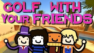 Golf in der Wüste! | GOLF WITH YOUR FRIENDS