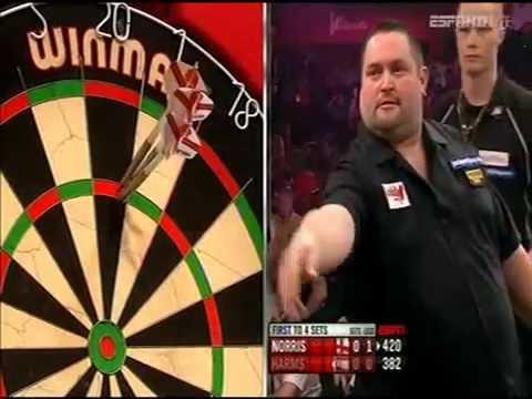 Darts World Championship 2013 Round 2 Harms vs Norris