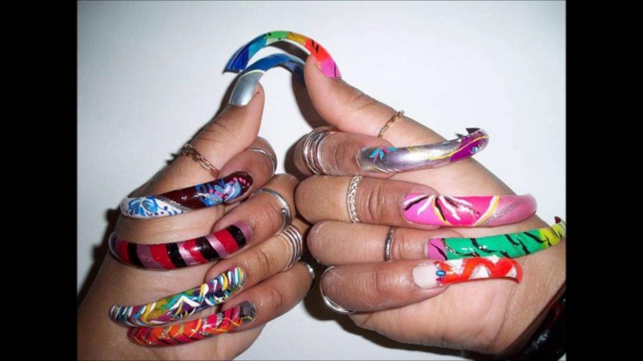 världens största naglar