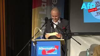 Polit Satire vom Feinsten - Michael Klonovsky  spricht bei der AfD in Bad Muskau 21.Sep.17