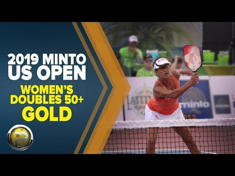 Women's Doubles 50+ GOLD - 2019 Minto US Open Pickleball Championships