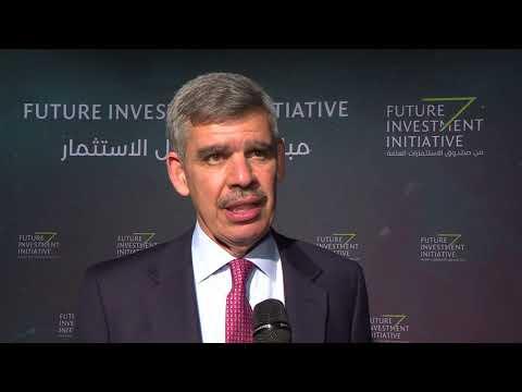 Mohamed El Erian at Future Investment Initiative - 2017
