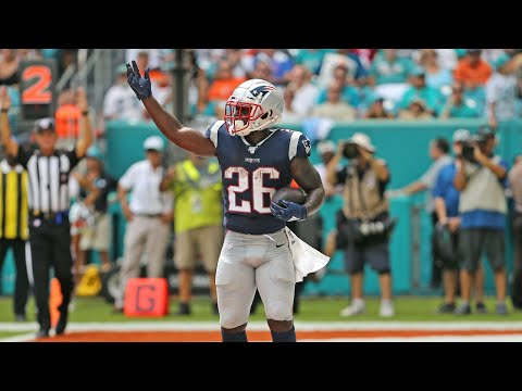 Patriots running back Sony Michel on victory over the Dolphins