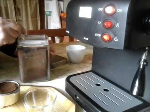 Macchina per Caffè Espresso e Cappuccino caffè in polvere Expresso 15bar Caffè SUPER CREMOSO.