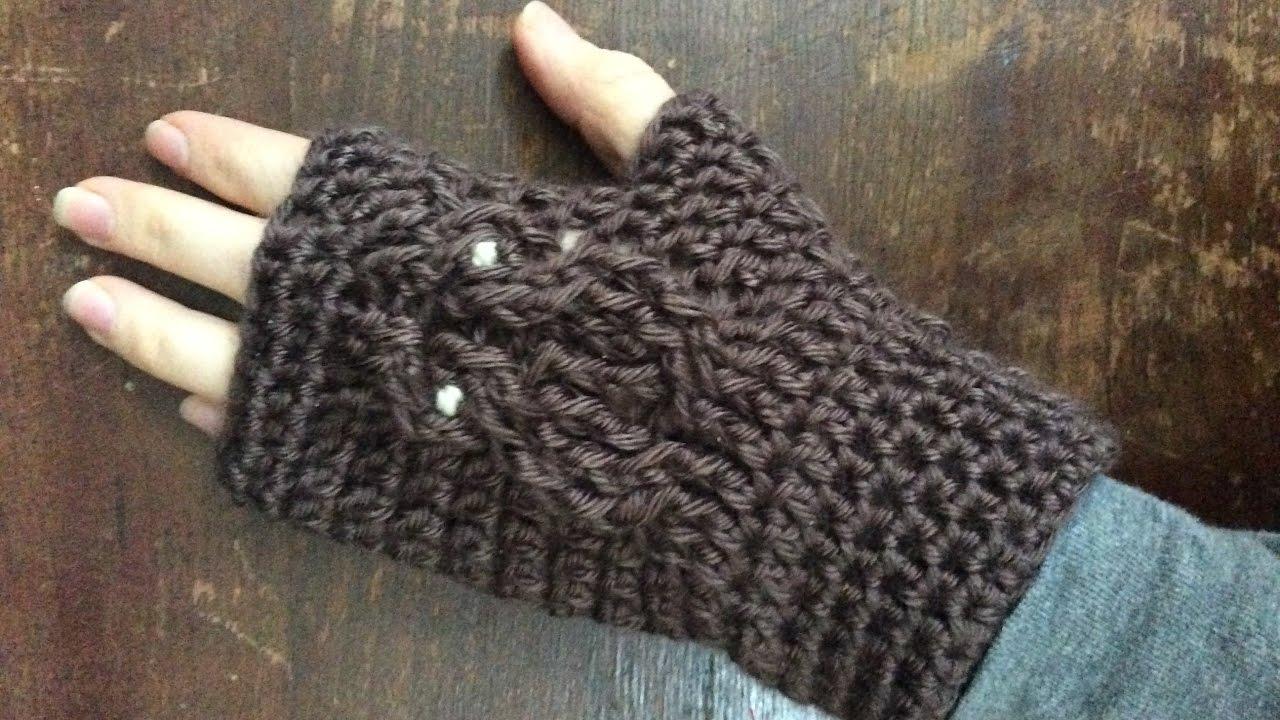 Crochet Owl Gloves - YouTube
