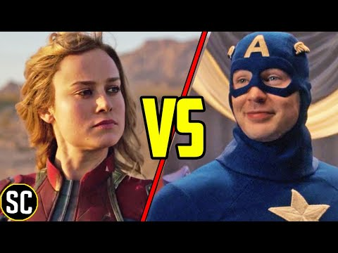 The Scene That Explains Why First Avenger Worked and Captain Marvel Didn't - SCENE FIGHTS!