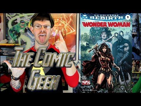 Wonder Woman DC Universe Rebirth #1 Comic Book Review