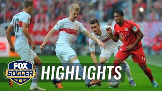 Bayern Munich vs. VfB Stuttgart | 2015–16 Bundesliga Highlights