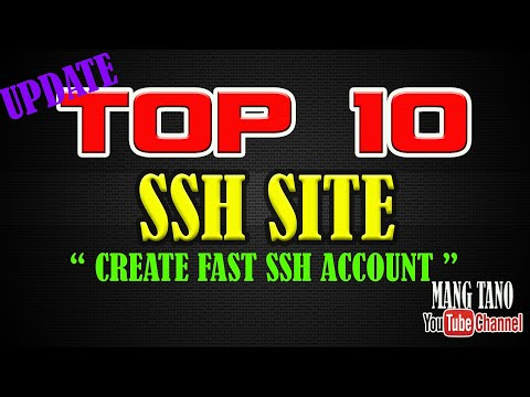 TOP 10 FAST SSH SITE