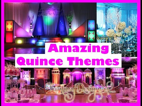 amazing quince wedding themes 2016 2017 by fantasy designers