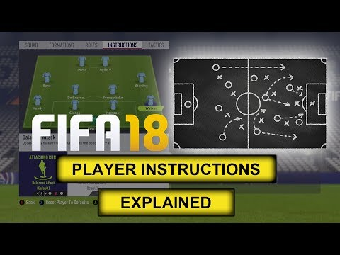FIFA 18 | PLAYER INSTRUCTIONS EXPLAINED