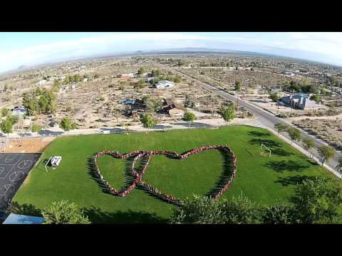 Pinon hills Elementary kids have heart 2015