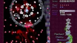 Lets Play Touhou 7 Perfect Cherry Blossom part 2 Stage 3