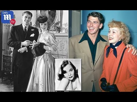 Ronald Reagan's ex Jane Wyman attempted suicide to secure proposal  Daily