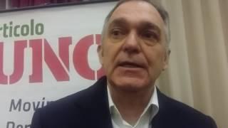 Enrico Rossi  presenta Democratici e Progressisti a Brindisi
