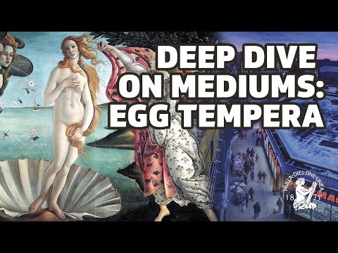 From The Middle Ages to Modern Times: Egg Tempera in Art History With Doug Safranek