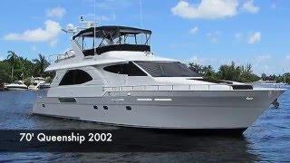 70' Queenship Motor Yacht - Bradford Marine