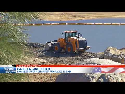 Engineers work to make Isabella Dam safer