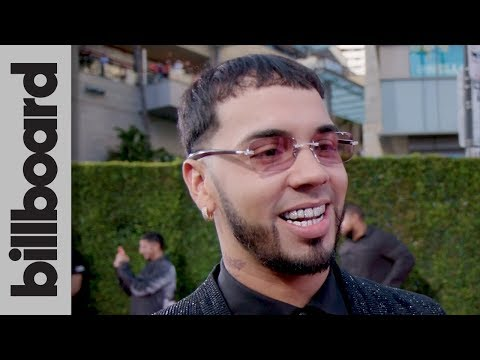 Anuel AA Talks Artist of the Year Nomination & Performance With Ozuna | Latin AMAs