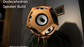 Making A Dodecahedron Speaker | Shapeoko 3