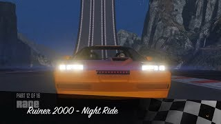 Grand Theft Auto 5 - Circuit Races | Ruiner 2000 - Night Ride (Special Vehicle Races)