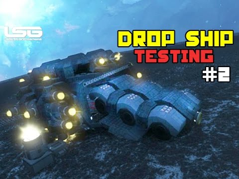 how to make a drop pod space engineers