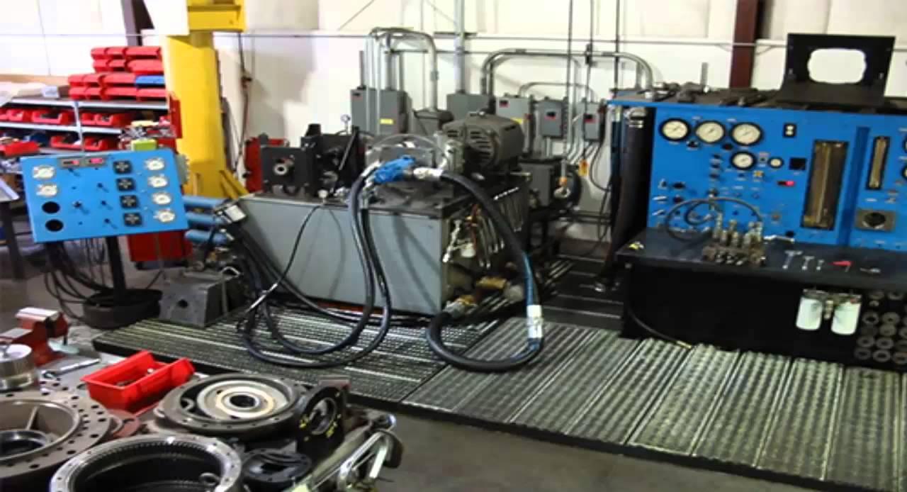 Ship Crane Hydraulic Pumps And Motors Batam Indonesia By