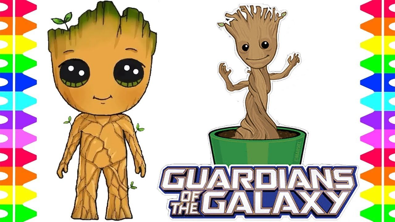 Guardians of the Galaxy Coloring Pages and Fun Kit | 720x1280