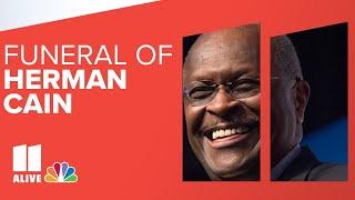 Herman Cain Funeral Stream