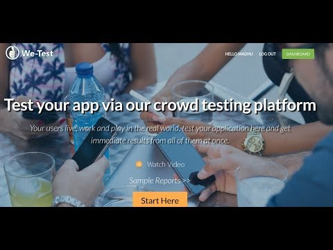 Crowd Testing 113 - We-Test is the next website for Freelance