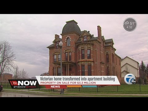 Victorian mansion for sale in Brush Park
