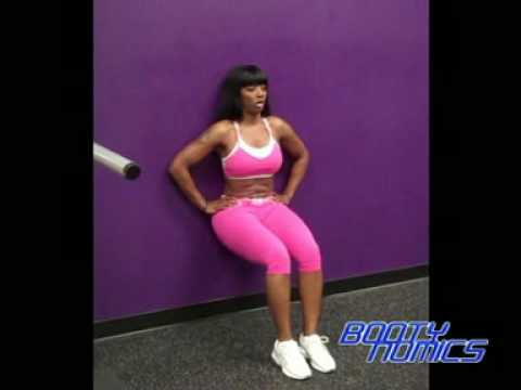 Wall Sit ( glutes and thighs) from YouTube · Duration:  50 seconds