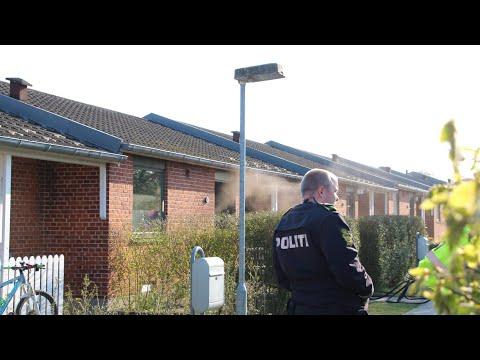 28.04.21 Mindre brand i rækkehus i Slagelse