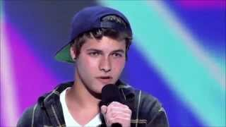 Repeat youtube video Owen Stuart's X Factor Audition - Airplanes