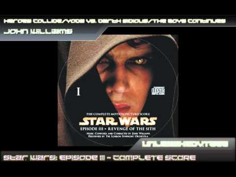 Star Wars: Episode III OST - Heroes CollideYoda Vs Darth SidiousThe Boys Continues