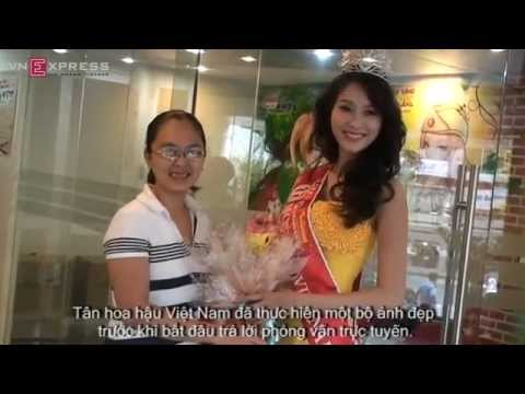 Online Interview with Miss Vietnam 2012 - Thu Thao Dang