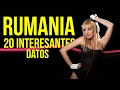 Rumania: 20 INTERESANTES datos (Vídeo educativo)