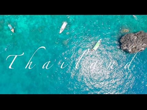 thailand travel video  2017 drone phantom 4 4k best trip ever